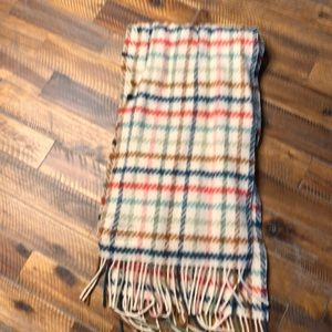 Coach Wool and Cashmere Scarf
